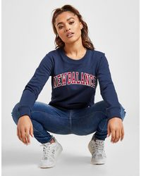 New Balance Varsity Crew Sweatshirt - Blue