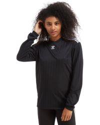 adidas Originals - Trefoil Football Long Sleeve T-shirt - Lyst
