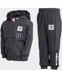 adidas Originals Id96 Full Zip Tracksuit Infant - Black