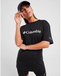Columbia Basic Logo T-shirt - Black