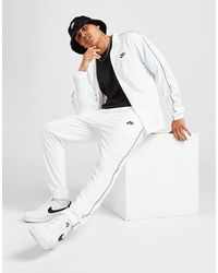 Nike Poly Tracksuit - White