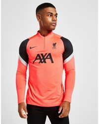 Nike Liverpool Fc Strike Drill Top - Red