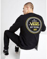 Vans '66 Checkerboard Crew Neck Sweatshirt - Black