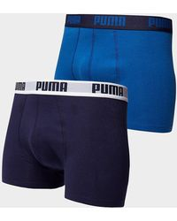 PUMA Pack de 2 boxers Homme - Noir
