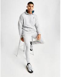 Lacoste Slim Cuffed Fleece Pants - Gray