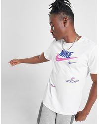 Nike T-shirt Futura 2M Homme - Blanc