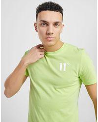 11 Degrees T-shirt avec petit logo Core - Vert