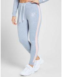SIKSILK - Panel Fleece Trousers - Lyst