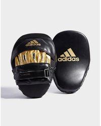 adidas Focus 10 Boxing Mitts - Black