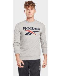 Reebok - Identity Big Logo Crew - Lyst