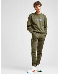 PUMA - Core Logo Trousers - Lyst