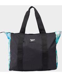 Reebok Tech Style Graphic Tote Bag - Black