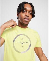 Billabong Circle Logo T-shirt - Yellow
