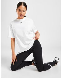 Nike Essential Logo Boyfriend T-shirt - White
