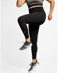 Nike One Tights (plus Size) - Black