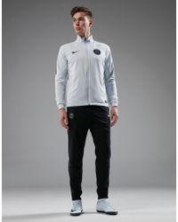 Nike Paris Saint Germain Woven Suit - White