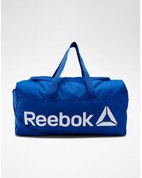 Reebok Sac De Sport Active Core Medium-grip - Blue