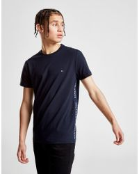 Tommy Hilfiger - Side Tape T-shirt - Lyst