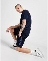 Nicce London Vina Shorts - Blue