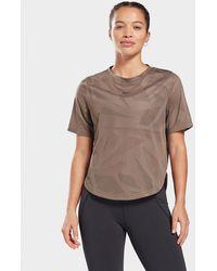 Reebok Perforated T-shirt - Grey