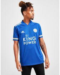 adidas Leicester City Fc 2020/21 Home Shirt - Blue