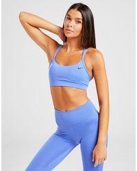 Nike Favorite Strappy Bra - Blue
