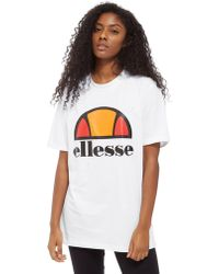 Ellesse - Boyfriend Logo T-shirt - Lyst