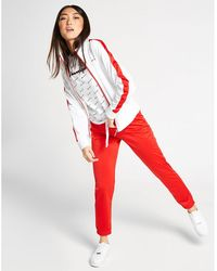 Champion Logo Stripe Tracksuit - Red