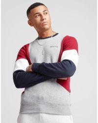 Nicce London - Colour Block Crew Sweatshirt - Lyst