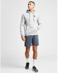 Under Armour Rival Overhead Hoodie - Gray