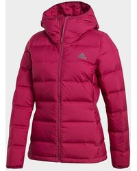 adidas Helionic Down Jacket - Red
