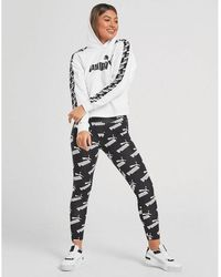 adidas originals 3 stripes grid all over print leggings