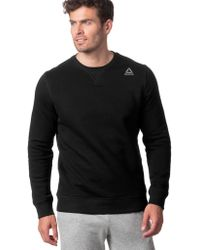 Reebok - Elements Fleece Crew - Lyst