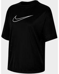 Nike Sportswear Mesh Short-sleeve Top - Black