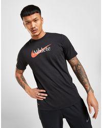 Nike Dri-fit Swoosh Training T-shirt - Black