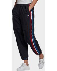 adidas Originals Adicolor Tricolor Japona Sweat Tracksuit Bottoms - Black