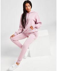 Nicce London Logo Fleece Sweatpants - Pink