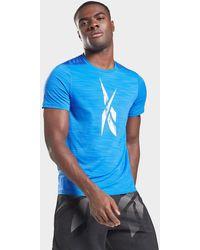 Reebok Workout Ready Activchill T-shirt - Blue