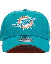 4e1064c8886 Lyst - KTZ Miami Dolphins Tc Training Bucket Hat in Blue for Men