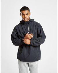 Calvin Klein - Performance 1/4 Zip Woven Jacket - Lyst