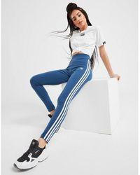 adidas Originals 3-stripes Leggings - Blue