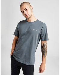 Columbia Back Box T-shirt - Gray