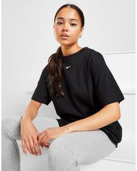 Nike Essential Logo Boyfriend T-shirt - Black