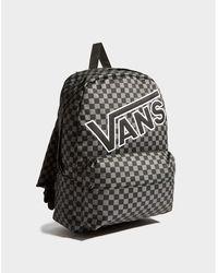 Vans - Check Backpack - Lyst