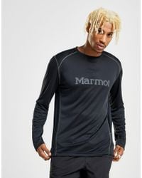 Marmot Windridge Long Sleeve Poly T-shirt - Black