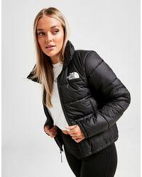 The North Face Dome Logo Puffa Jacket - Black