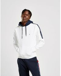 d5e8c4dce Tommy Hilfiger - Overhead Sleeve Tape Hoodie - Lyst