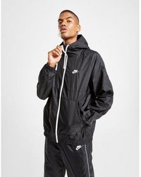Nike Hoxton Woven Hooded Jacket - Black