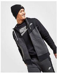 Nike - Sportswear Hybrid-Fleece-Hoodie Herren - Lyst