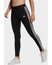 adidas Loungewear Essentials 3-stripes Leggings - Black